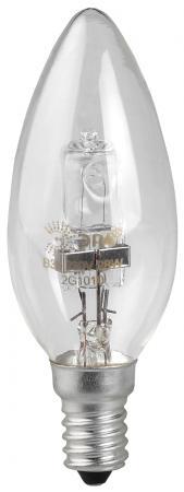 Лампа галогенная свеча Эра Hal-B35-28W-230V-E14-CL E14 28W 3000K philips b35 40w e14 fr 1