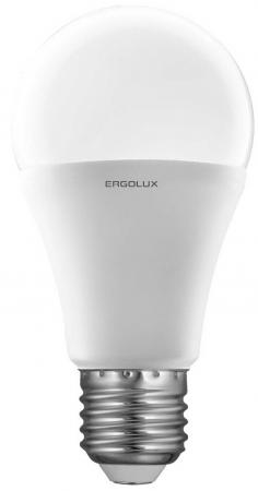 цена Лампа светодиодная груша Ergolux LED-A60-17W-E27-3K E27 17W 3000K онлайн в 2017 году