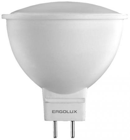 Лампа светодиодная рефлекторная Ergolux LED-JCDR-7W-GU5.3-3K GU5.3 7W 3000K ergolux led c35 7w e14 3k эл лампа светодиодная свеча 7вт e14 3000k 172 265в