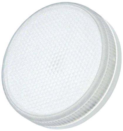 Лампа JAZZWAY 382552 светодиодная pled-eco-gx53 6Вт таблетка 3000к тепл. бел. gx53 460лм 230в