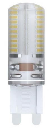 Лампа светодиодная капсульная Uniel LED-JCD-4W/NW/G9/CL/DIM G9 4W 4500K лампа светодиодная филаментная ul 00001818 uniel e27 4w 2250k прозрачная led g95 4w golden e27 cw glv21go