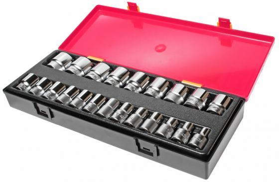 Набор головок JTC K4221 6-гранных 1/2 8-32мм в кейсе 22шт. набор для тестирования герметичности системы охлаждения двигателей грузовых автомобилей в кейсе jtc 4150