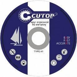 цена на Круг отрезной CUTOP 39990т профессиональный Т41-180х1.8х22.2мм по металлу