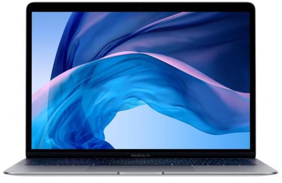 "Ноутбук Apple MacBook Air 13.3"" 2560x1600 Intel Core i5-8210Y 256 Gb 8Gb Intel UHD Graphics 617 серый macOS MRE92RU/A"