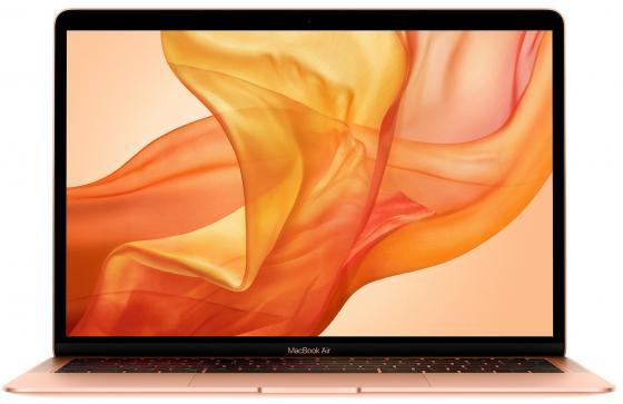 Ноутбук Apple MacBook Air 13.3 2560x1600 Intel Core i5-8210Y 256 Gb 8Gb Intel UHD Graphics 617 золотистый macOS MREF2RU/A ноутбук apple macbook air 11 6 core i5 5250u 1 6ghz 11 6 4gb 128gb hd graphics 6000 macos x silver mjvm2ru a