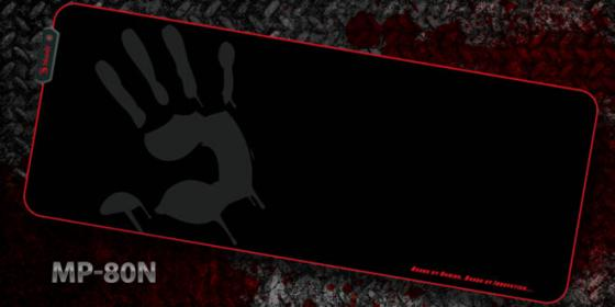 Коврик для мыши A4 Bloody MP-80N черный/рисунок a4tech bloody mp 80n с рисунком