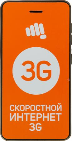 Смартфон Micromax Q306 серый 4 4 Гб Wi-Fi GPS 3G Bluetooth смартфон micromax q424 черный 4 5 8 гб wi fi gps 3g