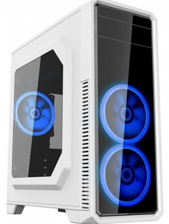 Корпус ATX GameMax G561-White без БП Без БП белый цена