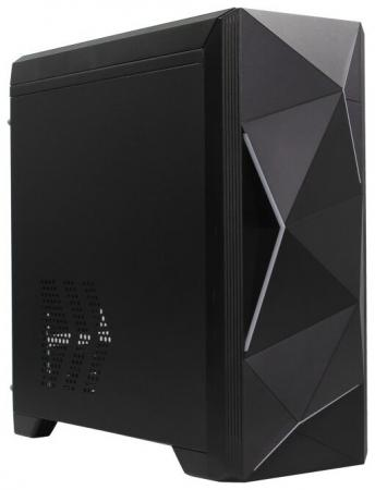 Корпус microATX PowerCool S6030 Без БП чёрный цена