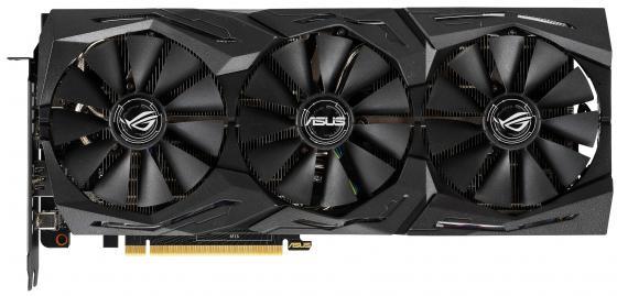цена на Видеокарта ASUS nVidia GeForce RTX 2070 ROG Strix GAMING PCI-E 8192Mb GDDR6 256 Bit Retail ASUS ROG-STRIX-RTX2070-A8G-GAMING