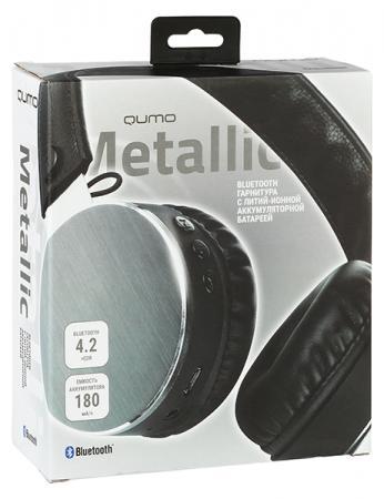 Гарнитура QUMO Metallic черный 24075