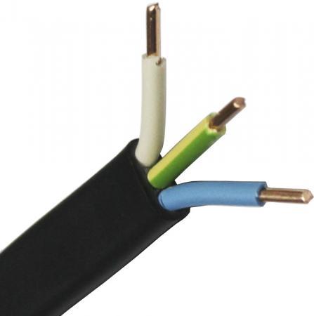 — ВВГ-Пнг (А) Калужский кабельный завод 3x4 мм круглый 100м черный