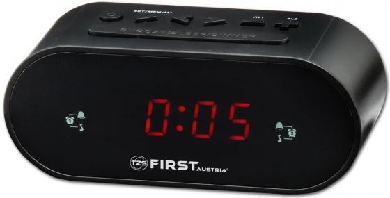 2406-5-BA Радиочасы FIRST LCD-дисплей 0.8'' (красный).Подключение батареи 1x3V SR2032 цена