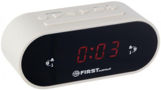 2406-5-WI Радиочасы FIRST LCD-дисплей 0.8'' (красный).Подключение батареи 1x3V SR2032 цена