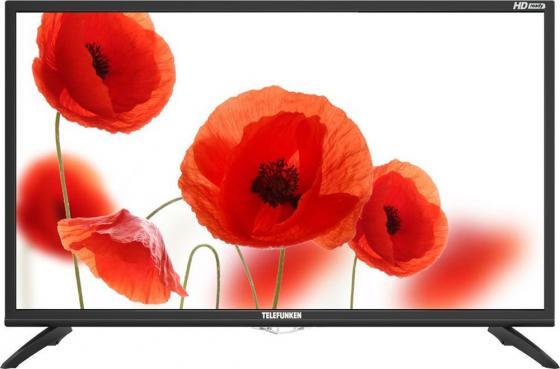 цена на Телевизор LED 32 Telefunken TF-LED32S74T2 черный 1366x768 50 Гц USB