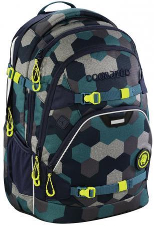 Школьный рюкзак светоотражающие материалы Coocazoo ScaleRale: Blue Geometric Melange 30 л синий бирюзовый 00183608 все цены