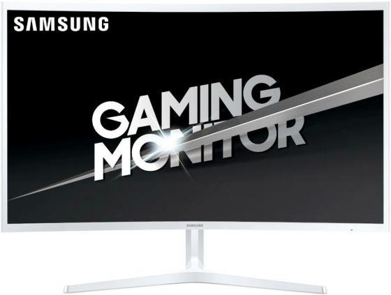 Монитор 32 Samsung C32JG51FDI белый VA 1920x1080 250 cd/m^2 4 ms HDMI DisplayPort Аудио LC32JG51FDIXCI монитор 22 benq gw2280 черный va 1920x1080 250 cd m^2 5 ms vga hdmi аудио 9h lh4lb qbe