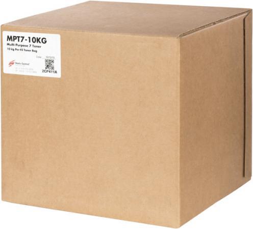 Тонер Static Control MPT7-10KG черный флакон 10000гр. для принтера HP LJP1005/1006/1505 цена и фото