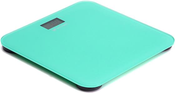 804-1-КТ Напольные весы Kitfort, Максимальный вес: 150 кг.Питание: 1хCR2032.зелёные
