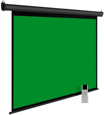 Экран Cactus 200x200см GreenMotoExpert CS-PSGME-200X200 1:1 настенно-потолочный рулонный