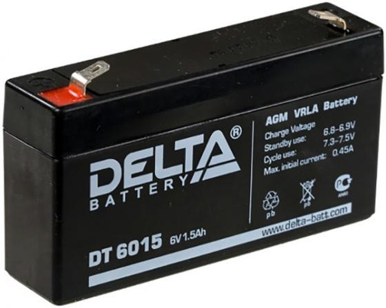 купить Delta DT 6015 (1,5 А\\ч, 6В) свинцово- кислотный аккумулятор дешево