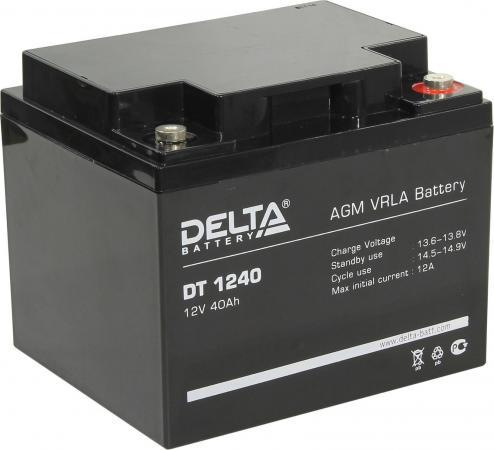 цена на Delta DT 1240 (40 А\\ч, 12В) свинцово- кислотный аккумулятор