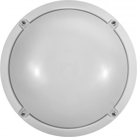 Онлайт 61193 Светильник светодиодный ЖКХ OBL-R1-7-6.5K-WH-IP65-LED