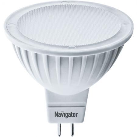 Лампа светодиодная рефлекторная Navigator NLL-MR16 GU5.3 5W 3000K 94263 лампа led mr16 gu5 3 5w 3000k 400lm 220v premium lamper