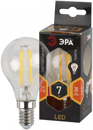 Фото - ЭРА Б0027946 Светодиодная лампа шарик F-LED P45-7w-827-E14 эра б0027946 светодиодная лампа шарик f led p45 7w 827 e14