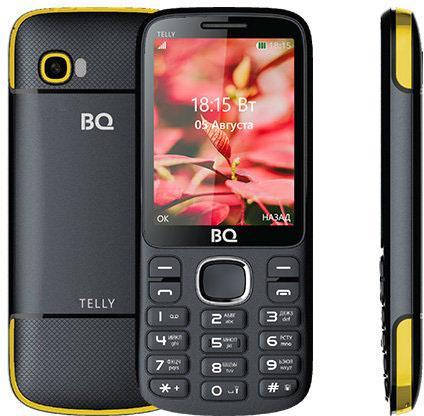 BQ 2808 TELLY, Black+yellow bq 2808 telly black yellow