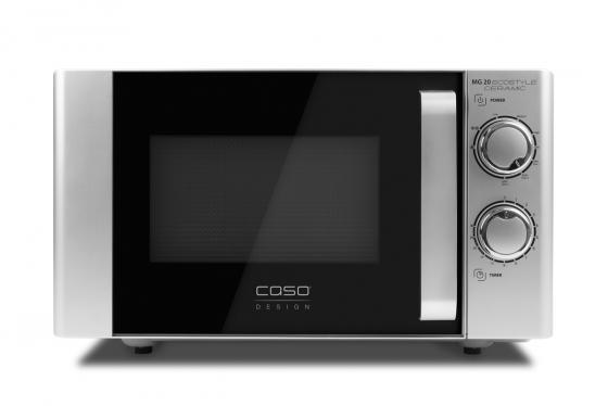 Микроволновая печь CASO MG 20 Ecostyle Ceramic 700 Вт серебристый микроволновая печь caso mg 20 menu black