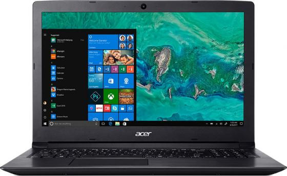 Ноутбук Acer Aspire A315-53-332L 15.6 1920x1080 Intel Core i3-7020U 128 Gb 4Gb Intel HD Graphics 620 черный Windows 10 Home NX.H2BER.004