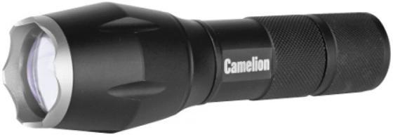 цена на Camelion LED5136 (фонарь, черный, LED XML-T6, ZOOM, 5 реж 3XLR03 в компл., алюм.,откр. блистер)