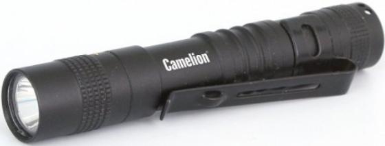 цена на Camelion LED51516 (фонарь, черн, LED XPE, 3 реж 1XLR03 в компл., алюм., откр. блистер)