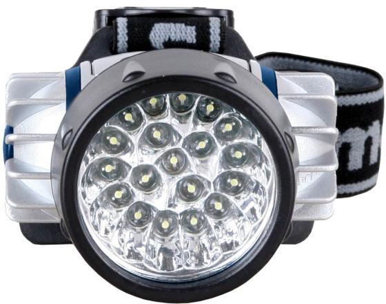 Camelion LED5323-19Mx (фонарь налобн, металлик,19 ультра ярк LED, 4 реж, 3XR03 в компл, пласт, блис) kenzo homme туалетная вода 30мл