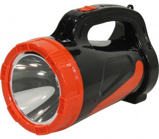 Smartbuy SBF-355-K Аккумуляторный светодиодный фонарь-прожектор 5W, черный smartbuy sbf 88 y аккумуляторный светодиодный фонарь 7 8 led с прямой зарядкой желтый