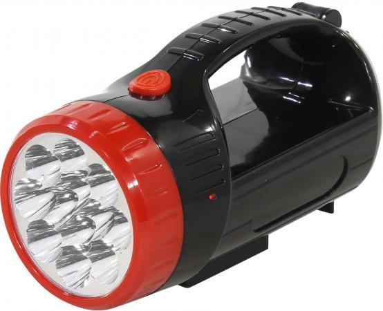 Smartbuy SBF-401-1-K Аккумуляторный светодиодный фонарь-прожектор 12+9 SMD, черный