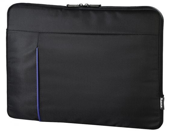 Чехол для ноутбука 15.6 HAMA Cape Town полиэстер черный 00101906 чехол для ноутбука 15 6 hama slide ткань черный 00101733
