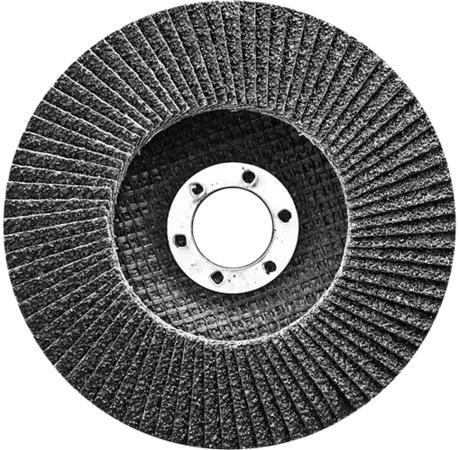 Круг Лепестковый Торцевой (КЛТ) СИБРТЕХ 74083 р 40 125 х 22.2