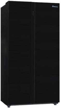 Холодильник BioZone BZSBF 176 AFGDBL черный морозильная камера biozone bzfd 143 afw