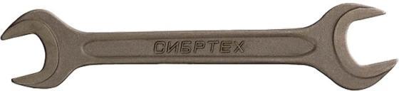 Ключ рожковый СИБРТЕХ 14329 (19 / 22 мм) СrV фосфатированный ГОСТ 2839 цена