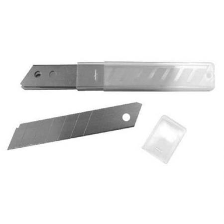 купить Лезвие для ножа BIBER 50218 18мм по цене 35 рублей