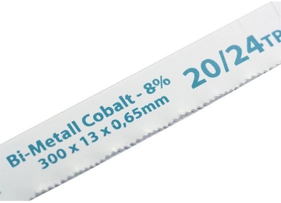 Полотна для ножовки по мет GROSS 77731 300мм VARIOZAHN, BIM, 2 полотна для ножовки по металлу 300 мм 32tpi bim 2 шт gross