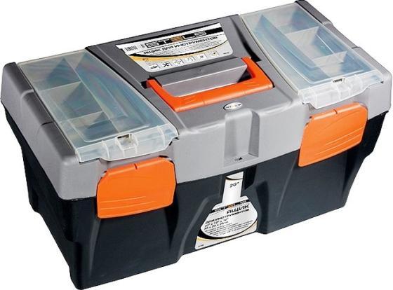 Ящик STELS 90705 для инструмента 500х260х260мм 20 пластик