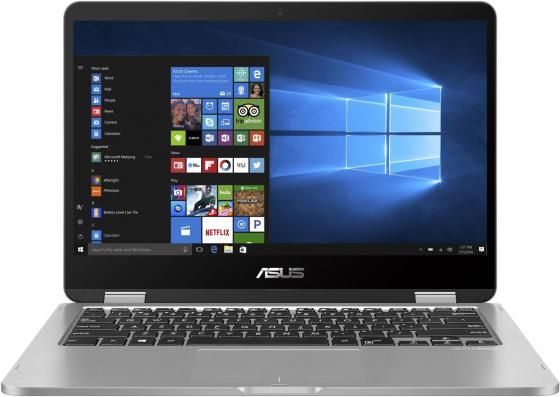 """Ноутбук ASUS VivoBook Flip 14 TP401CA-EC131T 14"""" 1920x1080 Intel Core i5-7Y54 128 Gb 4Gb 4G LTE Intel HD Graphics 615 серый Windows 10 Home 90NB0H21-M02870 цена и фото"""