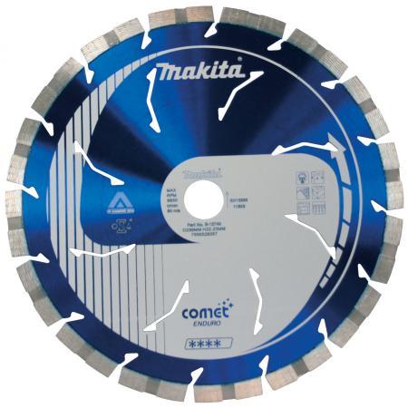 Makita B-13574 Диск алмазный сегментный Comet Rapide (ф300х20мм, д\\тверд матер, тех), шт алмазный диск makita 150х22 2мм economy b 28101