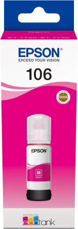 Картридж струйный Epson 106M C13T00R340 пурпурный (70мл) для Epson L7160/7180
