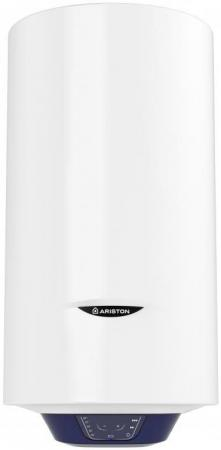 Водонагреватель Ariston BLU1 ECO ABS PW 65 V SLIM 2.5кВт 65л электрический настенный водонагреватель накопительный ariston abs pro eco inox pw 65 v slim 65л 2 5квт белый
