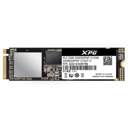Накопитель SSD A-Data PCI-E x4 512Gb ASX8200PNP-512GT-C XPG SX8200 Pro M.2 2280 цена и фото