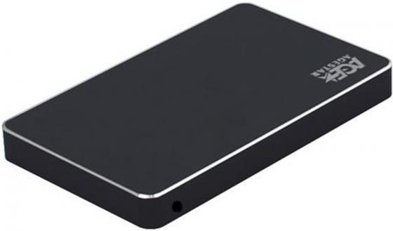 Внешний корпус для HDD AgeStar 3UB2AX1C SATA I/II/III алюминий черный 2.5 внешний корпус для hdd thermaltake muse 5g st0041z sata iii